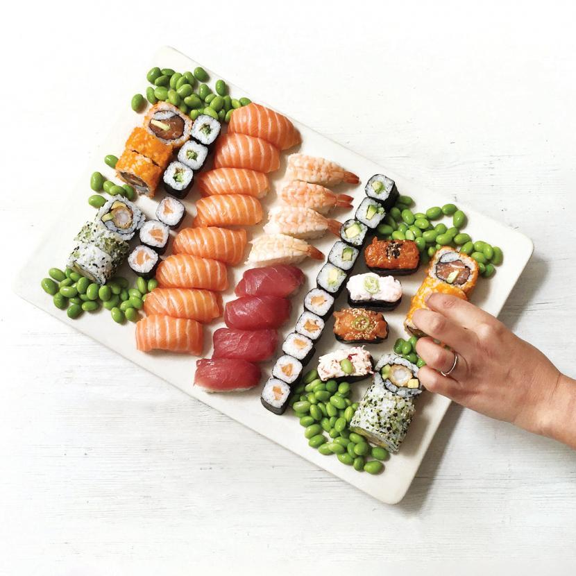 Wasabi sushi and bento restaurant at Bluewater, Kent