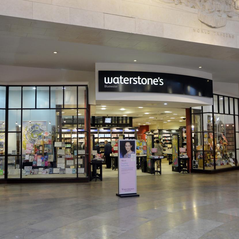 Waterstone S Bluewater Shopping Retail Destination Kent