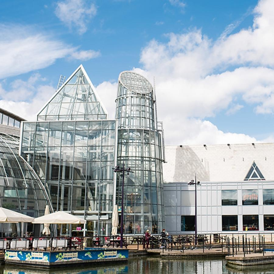 Bluewater Shopping and Leisure destination in Kent.