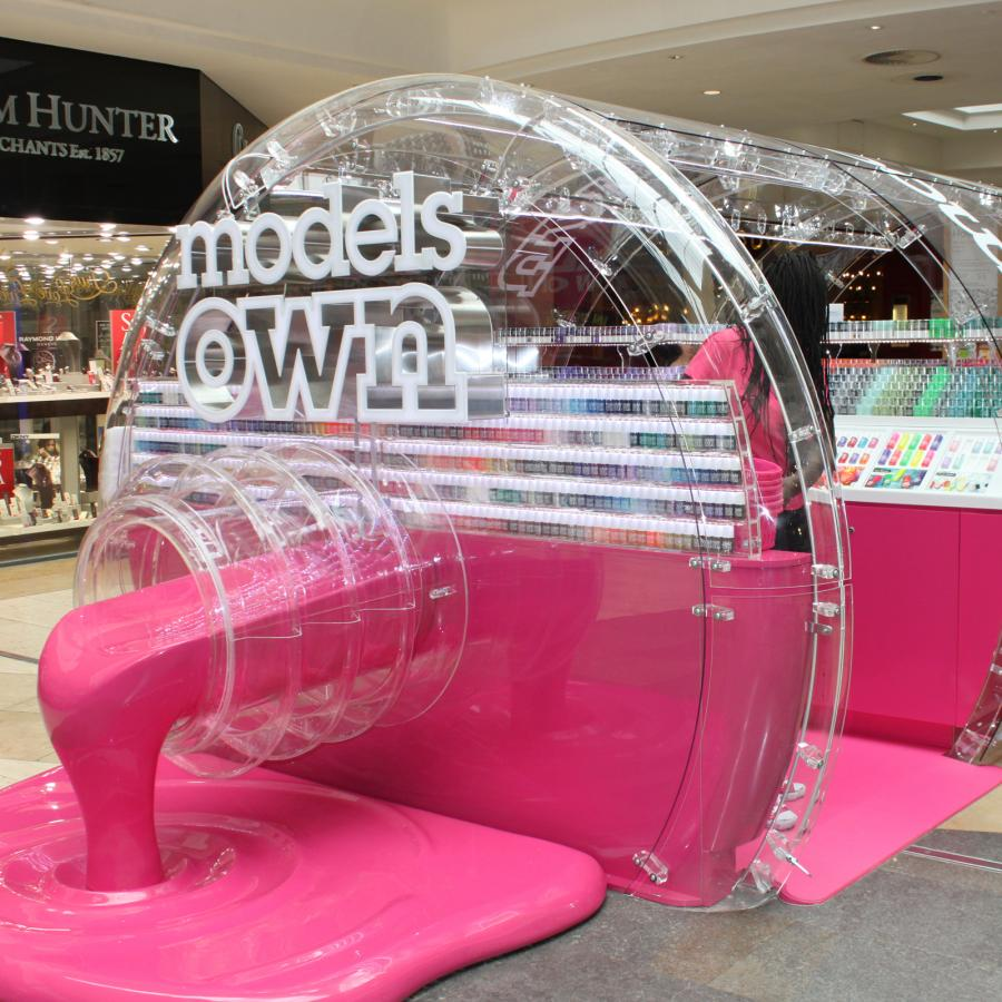 Model's Own nail polish concept store at Bluewater, Kent