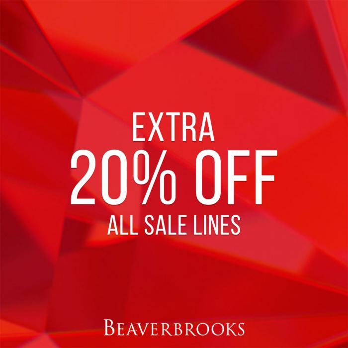 Beaverbrooks Extra 20% off, Bluewater, Kent