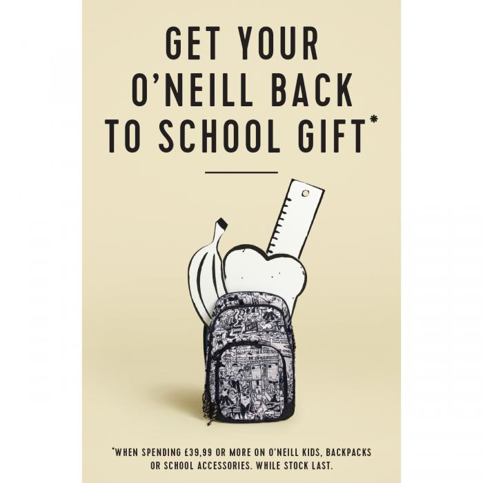 ONeills Back to School Promotion