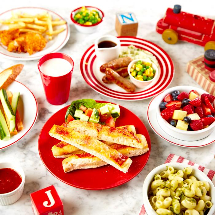 Kids eat for £1 at Cafe Rouge, Bluewater, Kent