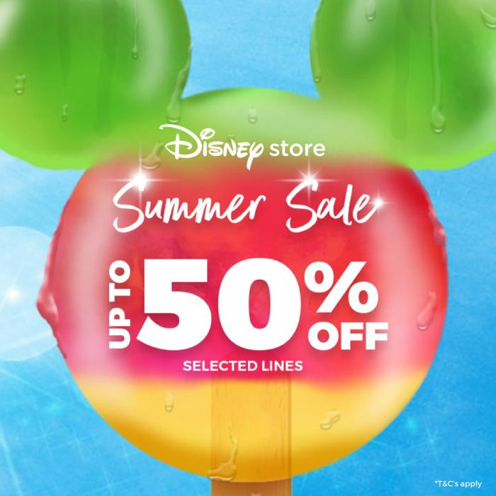 Disney store sale now on, Bluewater, Kent