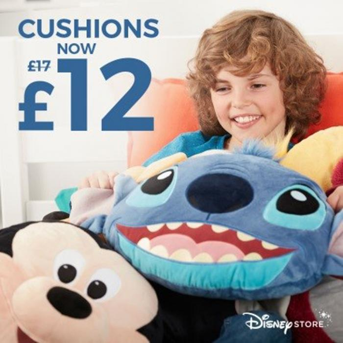 Disney Cushion Promotion now £12, Bluewater, Kent