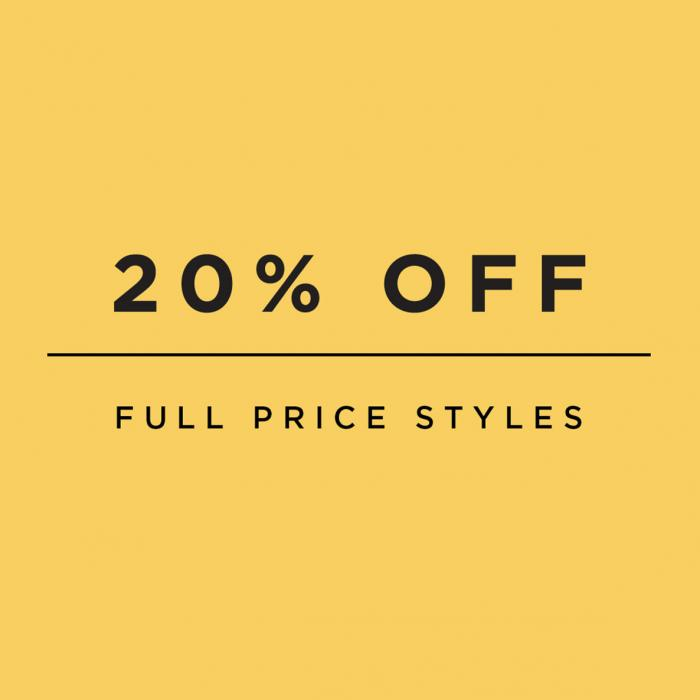 20% off at Hobbs, BLuewater, Kent