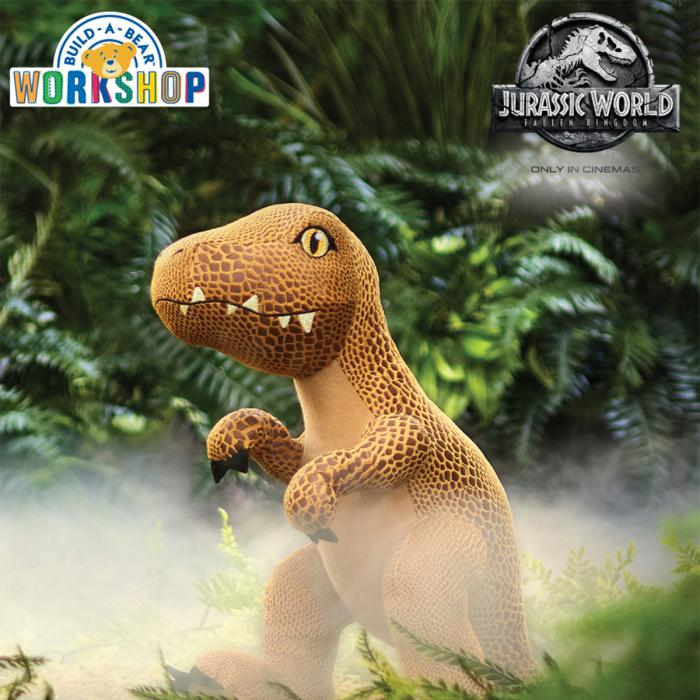 NEW Jurassic World collection from Build-A-Bear Workshop, Bluewater, Kent