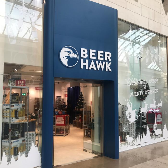 Beer Hawk now open, Bluewater, Kent