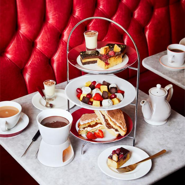 Cafe Rouge- NEW Afternoon Teas, Bluewater, Kent