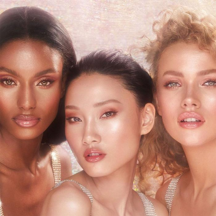Charlotte Tilbury Glowgasm collection at John Lewis & Partners, Bluewater, Kent
