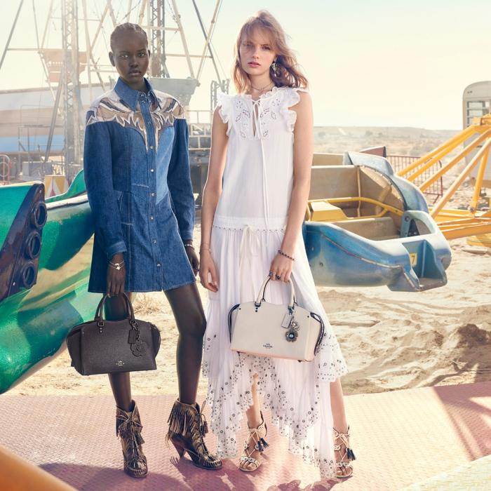 New Drew Bag at Coach, Kent, Bluewater