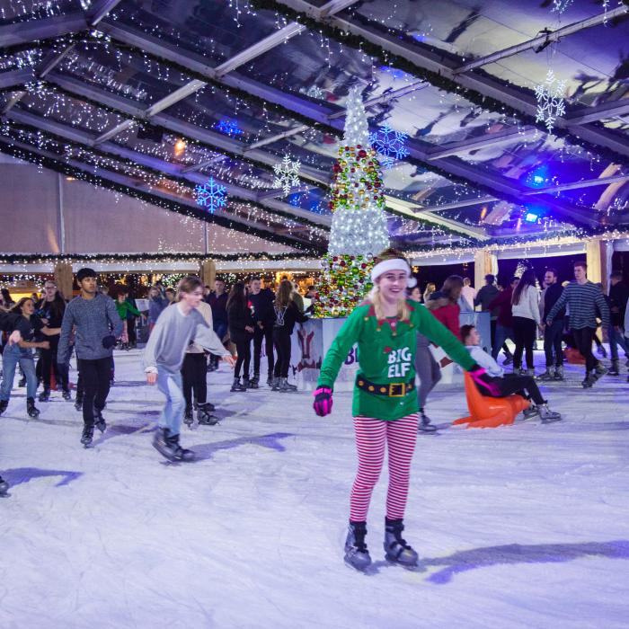 Disco nights with KMFM at the Ice Rink, Bluewater, Kent