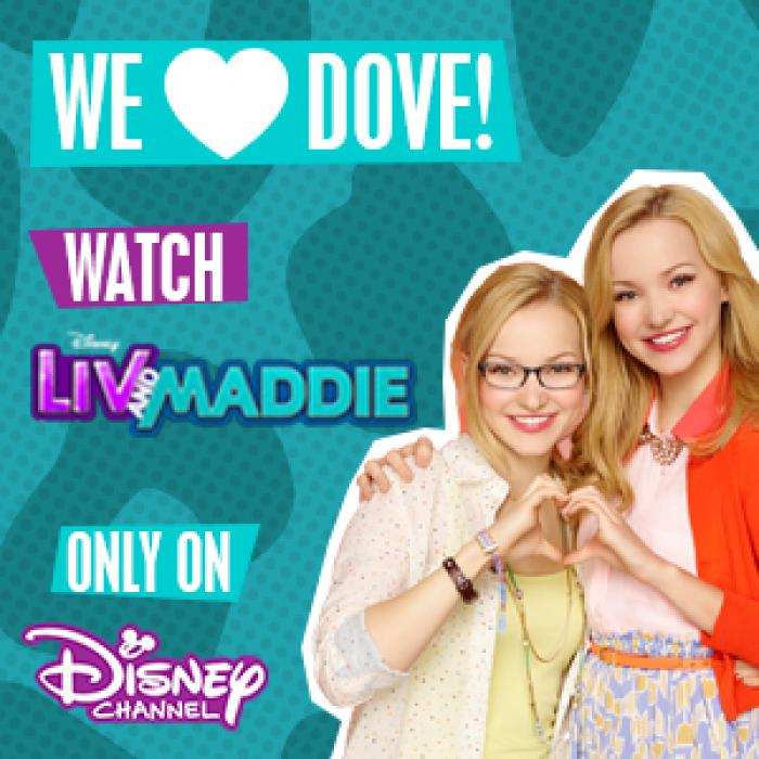 Watch Liv & Maddie from 2nd – 12th December Monday – Thursday from 5.30pm , Bluewater, Kent