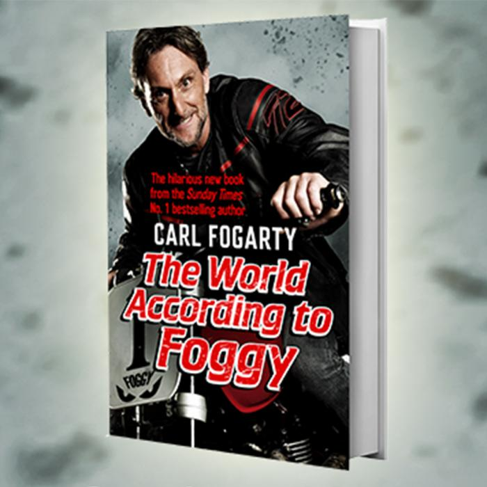 Carl Fogarty book signing at Waterstones on Saturday 28th April, Bluewater, Kent