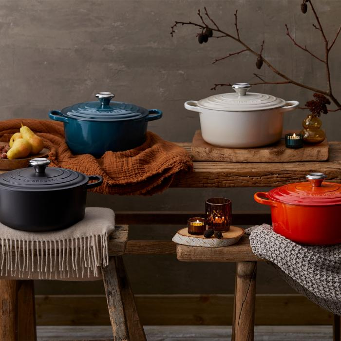 New Le Creuset Food Is Love Collection
