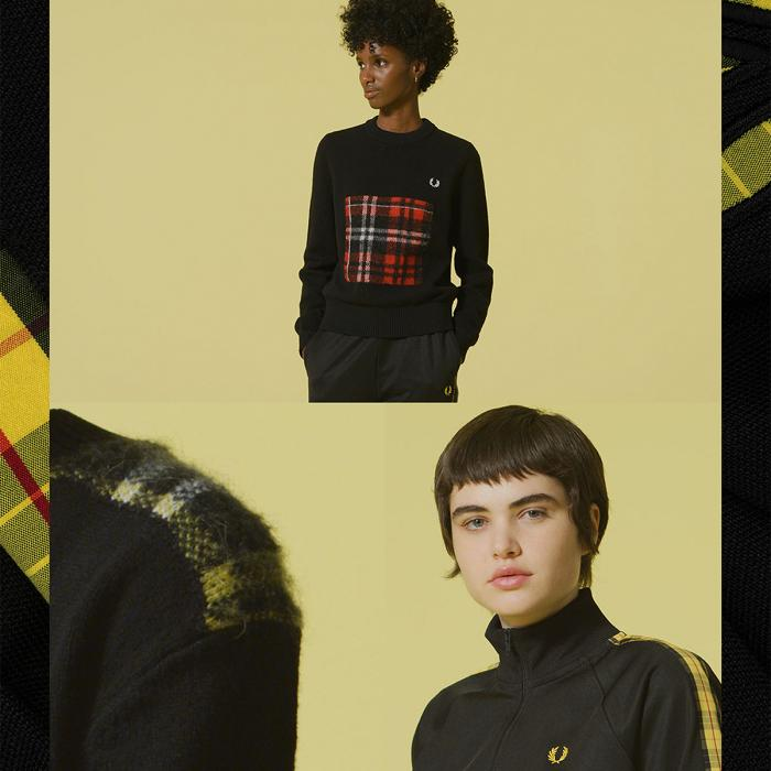 Fred Perry New Ladies Tartan, Bluewater, Kent
