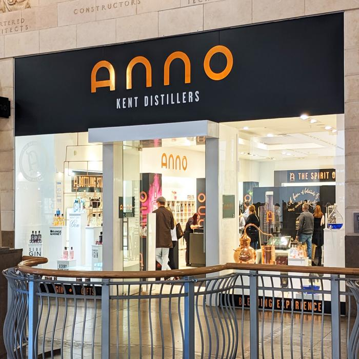The Anno Distillers award-winning gin pop-up store returns to Bluewater