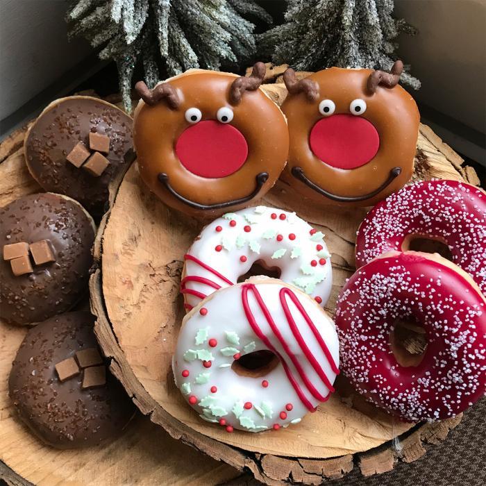 Krispy Kreme Christmas Collection, Bluewater, Kent