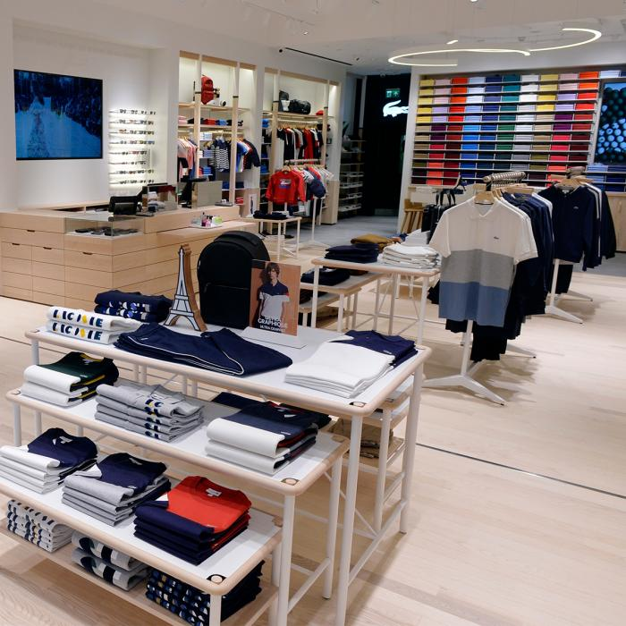 Lacoste store now reopened, Bluewater, Kent