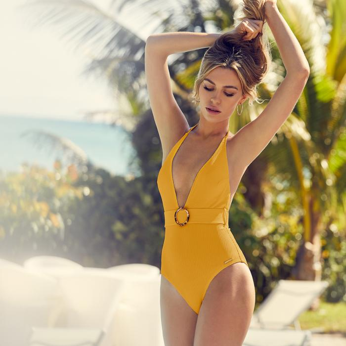 Abbey Clancy swimwear collection at Lipsy, Bluewater, Kent