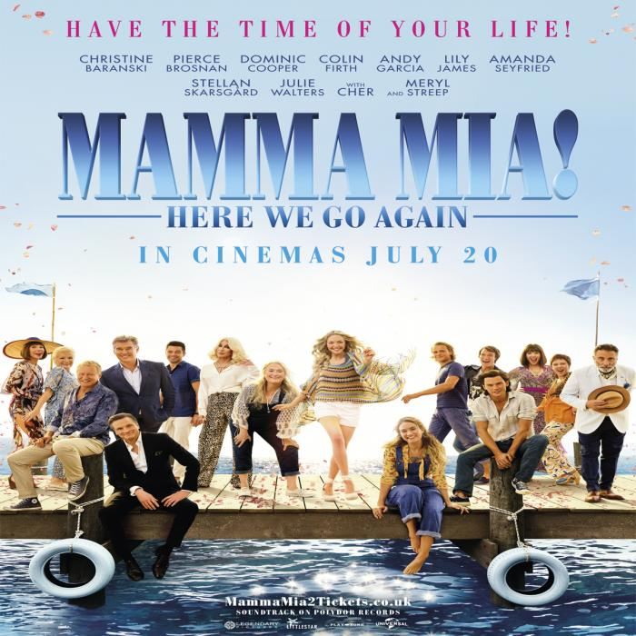 Mamma Mia at Showcase, Bluewater, Kent