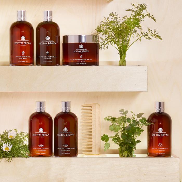 Molton Brown Botanical hair care