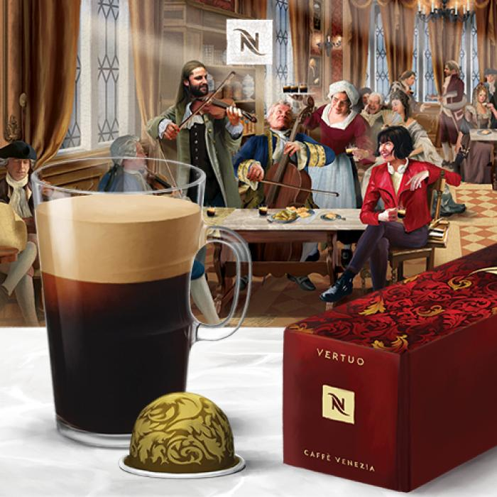 New Coffee House Limited Edition Range at Nespresso, Kent, Bluewater