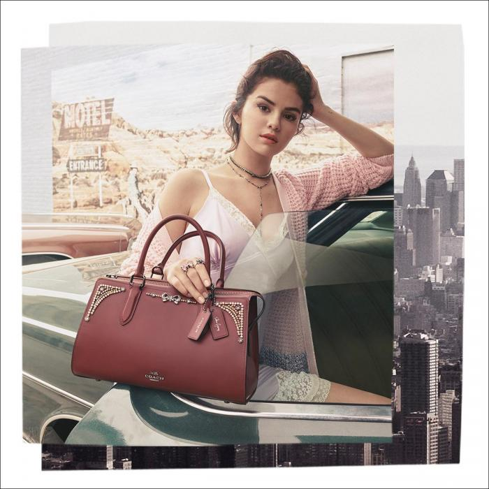 Win a Signed Selena Gomez handbag with Coach, Bluewater, Kent