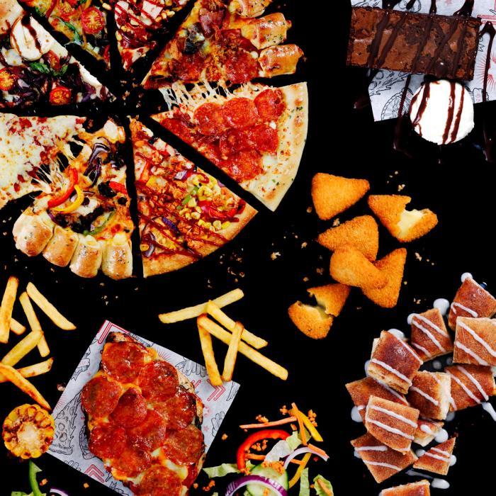 Pizza Hut new menu, Bluewater, Kent