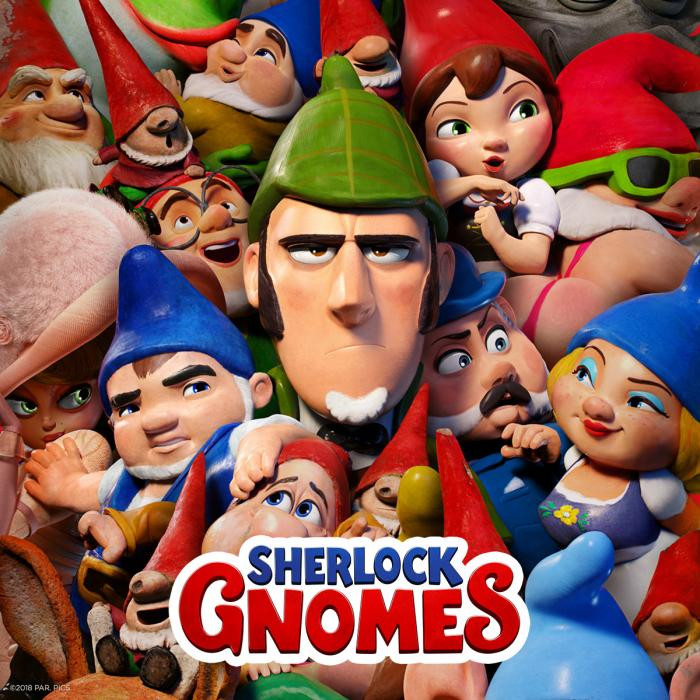 Come and visit the Sherlock Gnomes Colouring Wall, Bluewater, Kent