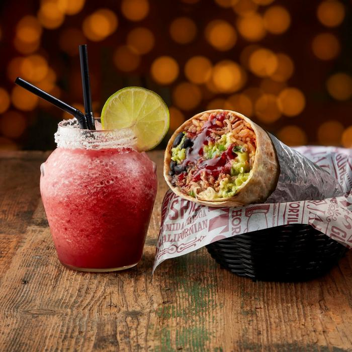 Tortilla's Christmas Menu, Bluewater, Kent