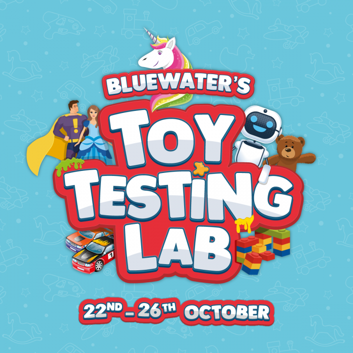Join our Toy Testing Lab this October Half Term, Bluewater, Kent