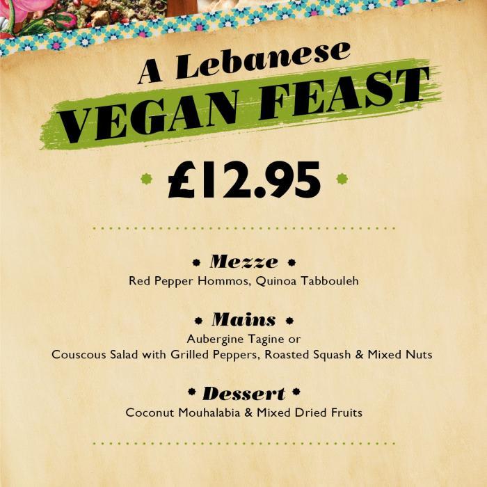 Vegan Feast Menu Now at Comptoir, Kent, Bluewater