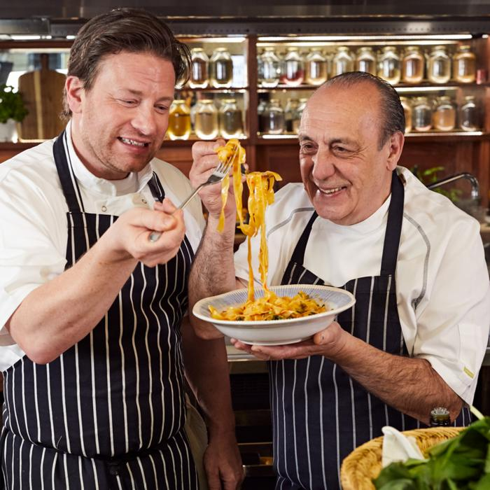 Jamies Italian World Pasta Day, Bluewater, Kent