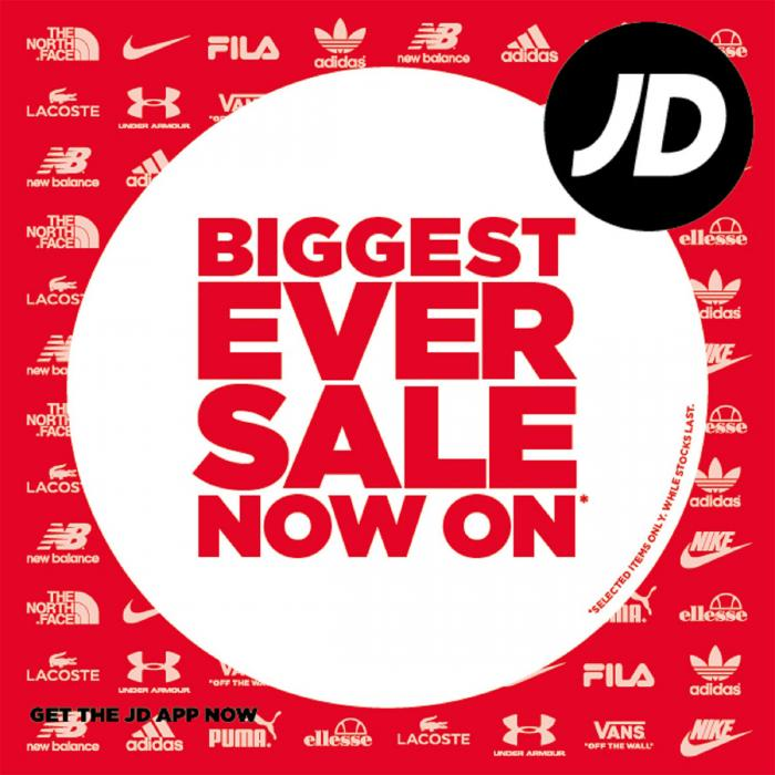 JD Sports Summer Sale now on, Bluewater, Kent