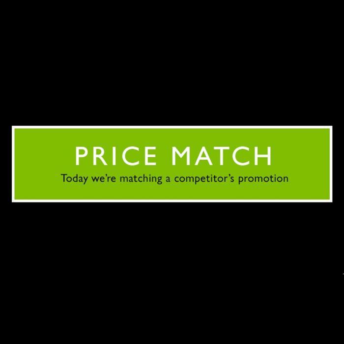 Price Match at John Lewis