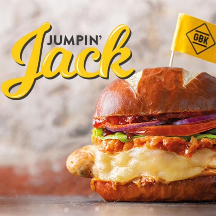 New special, Jumpin' Jack at GBK, Bluewater, Kent