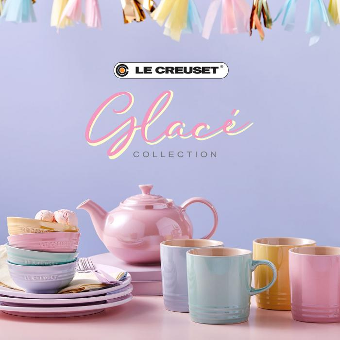 20% off all Glace sets at Le Creuset, Bluewater, Kent