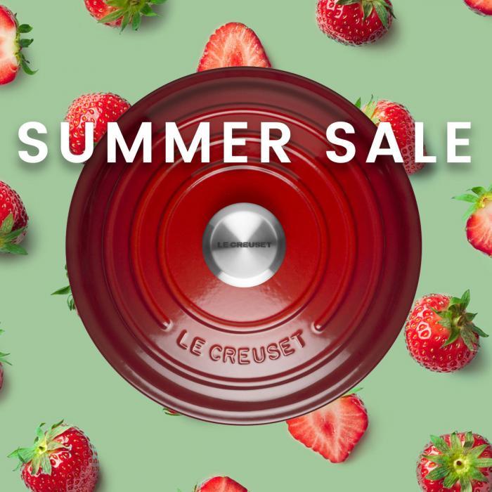 Le Creuset Summer Sale, Bluewater, Kent