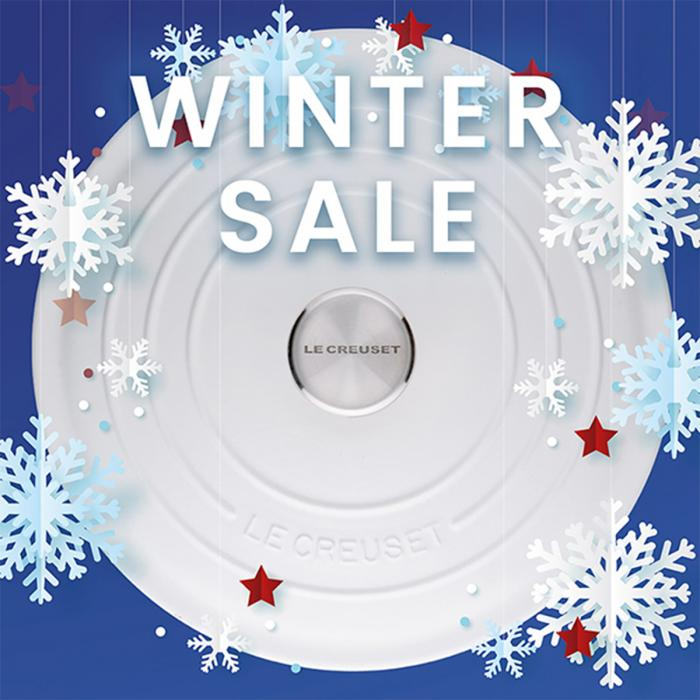 Le Creuset Winter Sale, Bluewater, Kent