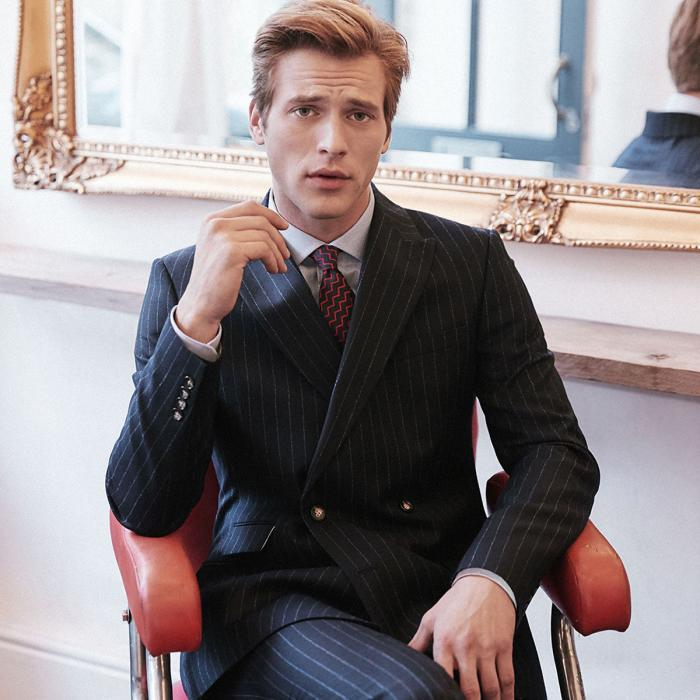 Double breasted suits from £159 at Moss Bros, Bluewater, Kent