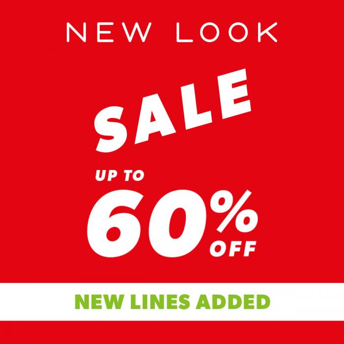 Up to 60% off at New Look, Bluewater, Kent