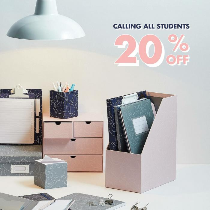 20% Student discount at Paperchase, Bluewater, Kent