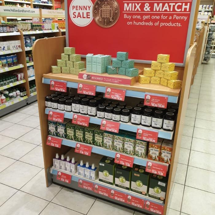 Penny sale at Holland and Barrett