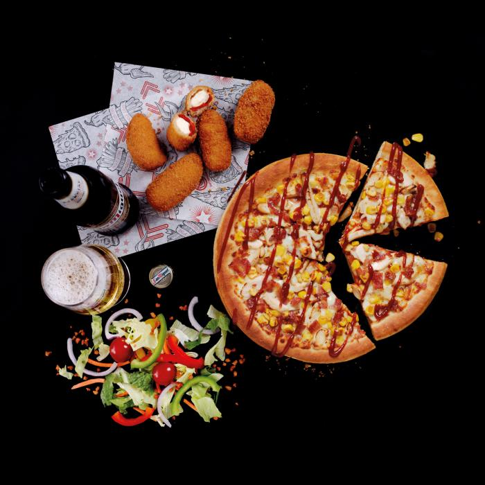 Pizza Hut Xmas Offer, Bluewater, Kent