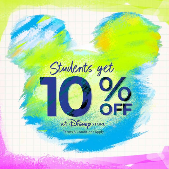 Student Discount Disney, Bluewater, Kent
