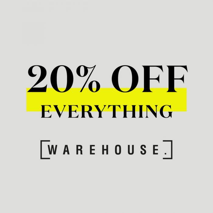 Warehouse offer