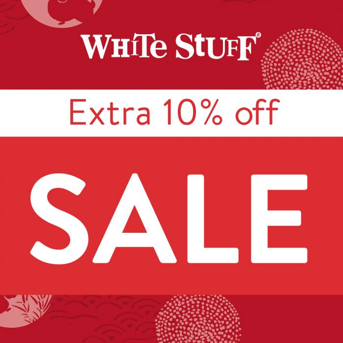 Extra 10% Off Sale at White Stuff, Kent, Bluewater