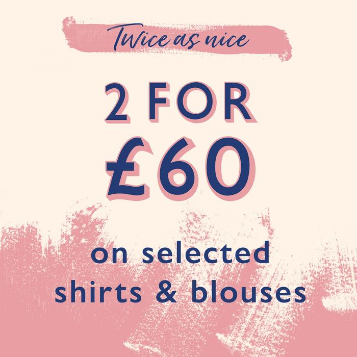 White Stuff Shirts and Blouses Promotion, Bluewater, Kent