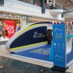 Eurostar installation at Bluewater, Kent